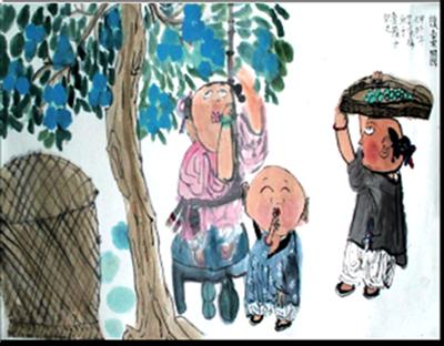 吴承祎 8岁学画一年半