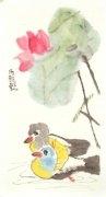 汤雅怡 7岁学画一年