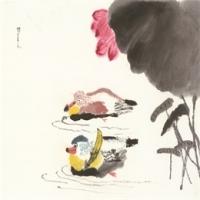 邓景元12岁  学画三年